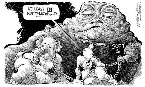 Cartoonist Nick Anderson  Nick Anderson's Editorial Cartoons 2002-02-12 candidates republicans