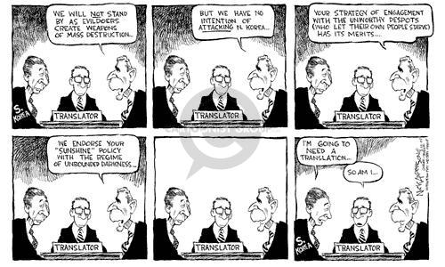Cartoonist Nick Anderson  Nick Anderson's Editorial Cartoons 2002-02-22 weapon