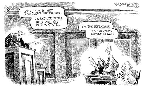 Cartoonist Nick Anderson  Nick Anderson's Editorial Cartoons 2002-02-24 trial
