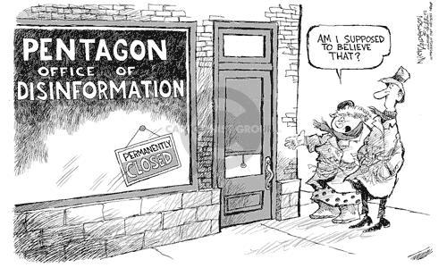 Nick Anderson  Nick Anderson's Editorial Cartoons 2002-02-28 disinformation