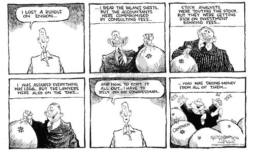 Nick Anderson  Nick Anderson's Editorial Cartoons 2002-03-01 corruption