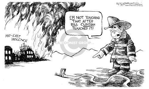 Cartoonist Nick Anderson  Nick Anderson's Editorial Cartoons 2002-03-05 disaster