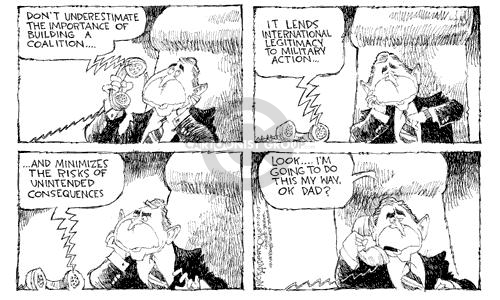Cartoonist Nick Anderson  Nick Anderson's Editorial Cartoons 2003-03-09 relationship