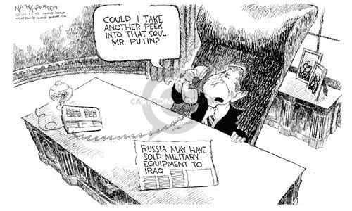 Cartoonist Nick Anderson  Nick Anderson's Editorial Cartoons 2003-03-26 missile