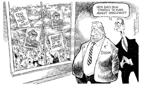 Cartoonist Nick Anderson  Nick Anderson's Editorial Cartoons 2002-04-07 middle