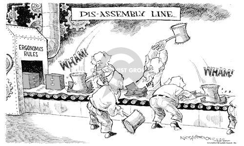 Nick Anderson  Nick Anderson's Editorial Cartoons 2002-04-09 damage
