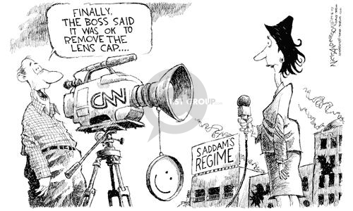 Cartoonist Nick Anderson  Nick Anderson's Editorial Cartoons 2003-04-16 cable news