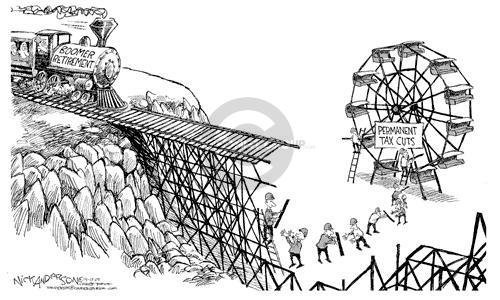 Nick Anderson  Nick Anderson's Editorial Cartoons 2002-04-17 tariff