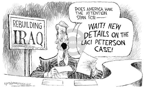 Nick Anderson  Nick Anderson's Editorial Cartoons 2003-04-23 distraction