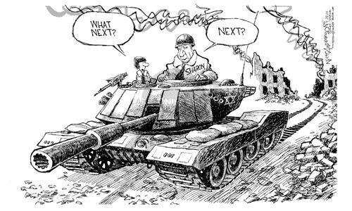 Cartoonist Nick Anderson  Nick Anderson's Editorial Cartoons 2002-04-28 city