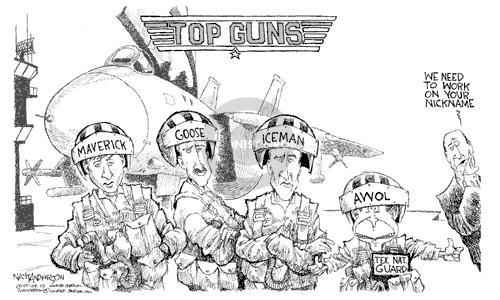 Cartoonist Nick Anderson  Nick Anderson's Editorial Cartoons 2003-05-09 handle