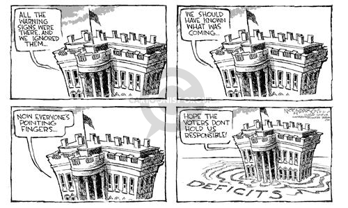 Nick Anderson  Nick Anderson's Editorial Cartoons 2002-05-21 federal budget