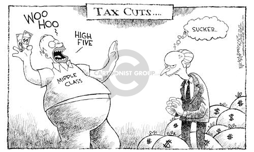 Cartoonist Nick Anderson  Nick Anderson's Editorial Cartoons 2003-05-29 economic policy