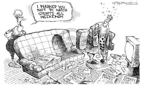 Cartoonist Nick Anderson  Nick Anderson's Editorial Cartoons 2002-06-10 national