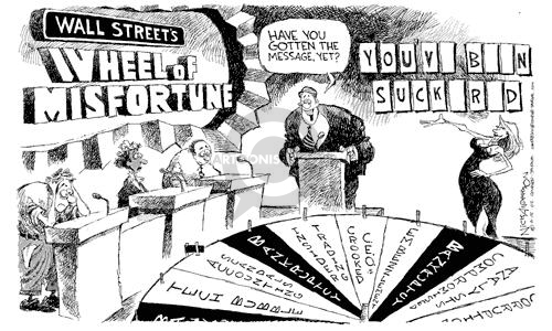 Nick Anderson  Nick Anderson's Editorial Cartoons 2002-06-18 corruption