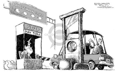 Nick Anderson  Nick Anderson's Editorial Cartoons 2002-06-27 Israel