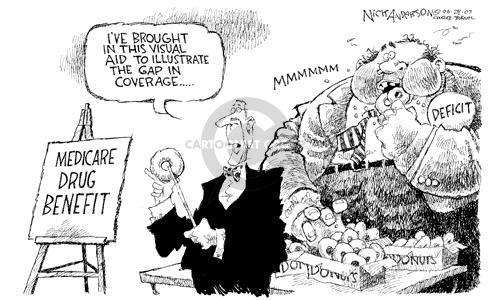 Cartoonist Nick Anderson  Nick Anderson's Editorial Cartoons 2003-06-29 bake