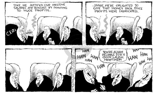 Nick Anderson  Nick Anderson's Editorial Cartoons 2002-07-03 political scandal