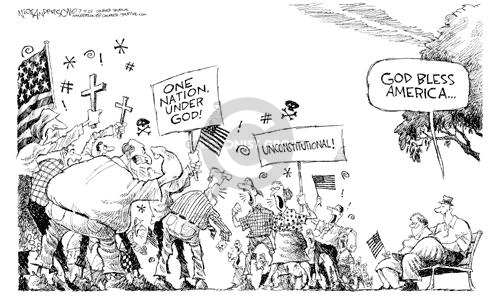 Nick Anderson  Nick Anderson's Editorial Cartoons 2002-07-04 amendment