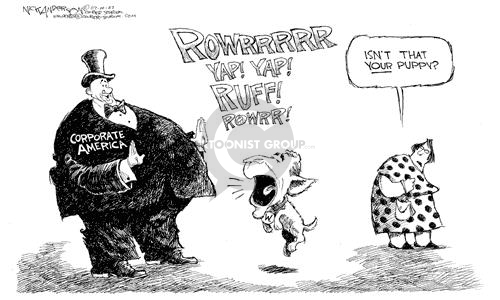 Nick Anderson  Nick Anderson's Editorial Cartoons 2002-07-10 corruption