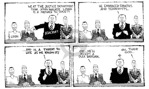 Cartoonist Nick Anderson  Nick Anderson's Editorial Cartoons 2002-07-19 compromise