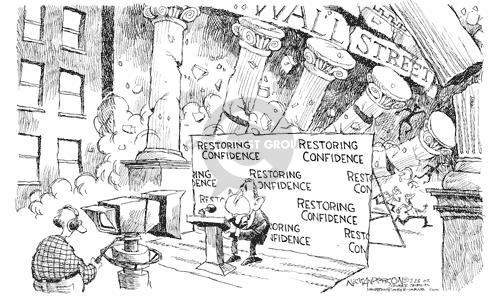 Nick Anderson  Nick Anderson's Editorial Cartoons 2002-07-23 stock market