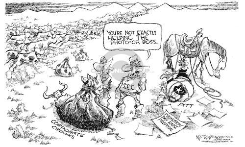 Nick Anderson  Nick Anderson's Editorial Cartoons 2002-07-26 corruption