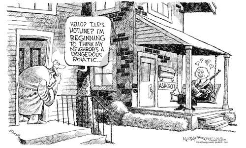 Cartoonist Nick Anderson  Nick Anderson's Editorial Cartoons 2002-07-27 appointee