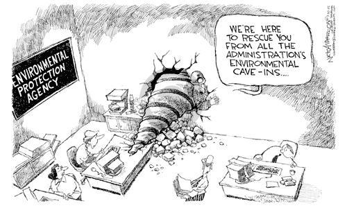 Cartoonist Nick Anderson  Nick Anderson's Editorial Cartoons 2002-07-30 environmental