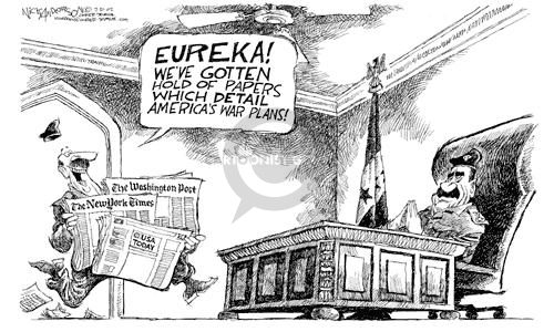 Nick Anderson  Nick Anderson's Editorial Cartoons 2002-07-31 freedom of the press