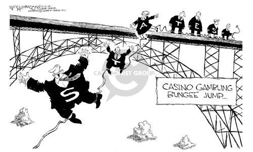 Nick Anderson  Nick Anderson's Editorial Cartoons 2002-08-07 dangerous