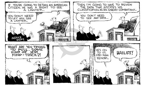 Cartoonist Nick Anderson  Nick Anderson's Editorial Cartoons 2002-08-02 judiciary