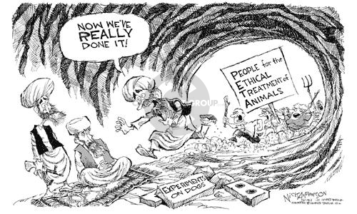 Cartoonist Nick Anderson  Nick Anderson's Editorial Cartoons 2002-08-21 biological weapon