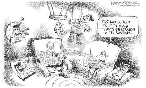 Cartoonist Nick Anderson  Nick Anderson's Editorial Cartoons 2002-08-23 Donald Rumsfeld
