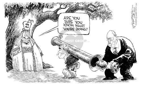 Cartoonist Nick Anderson  Nick Anderson's Editorial Cartoons 2002-09-18 missile
