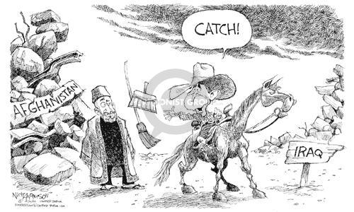 Nick Anderson  Nick Anderson's Editorial Cartoons 2002-10-10 invasion