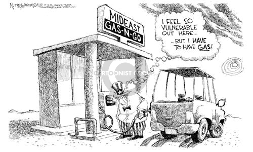 Cartoonist Nick Anderson  Nick Anderson's Editorial Cartoons 2002-10-16 automobile