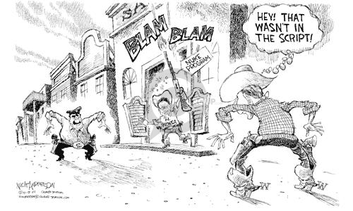 Nick Anderson  Nick Anderson's Editorial Cartoons 2002-10-18 North America