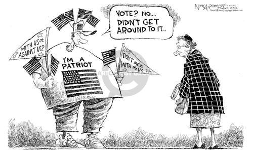 Nick Anderson  Nick Anderson's Editorial Cartoons 2002-11-05 participation