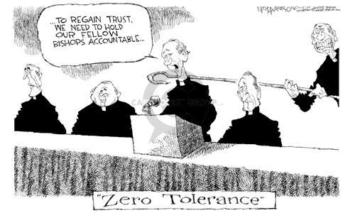 Nick Anderson  Nick Anderson's Editorial Cartoons 2002-11-15 zero tolerance