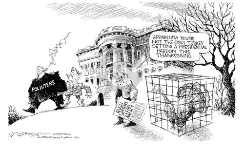 Cartoonist Nick Anderson  Nick Anderson's Editorial Cartoons 2002-11-26 relief