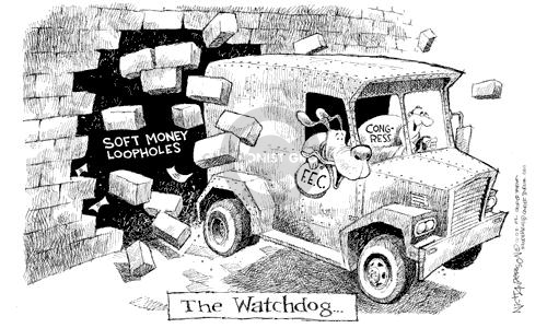 Cartoonist Nick Anderson  Nick Anderson's Editorial Cartoons 2002-12-03 hole