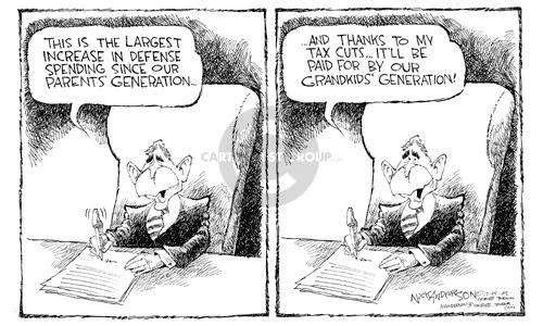 Cartoonist Nick Anderson  Nick Anderson's Editorial Cartoons 2002-12-05 generation