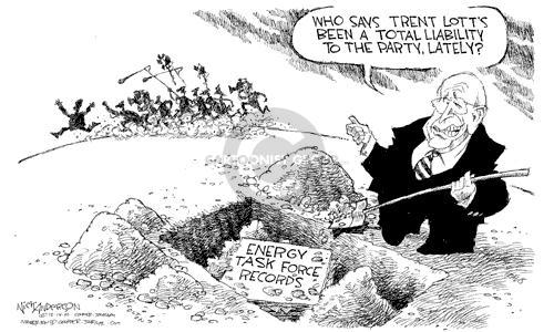 Cartoonist Nick Anderson  Nick Anderson's Editorial Cartoons 2002-12-14 diversion
