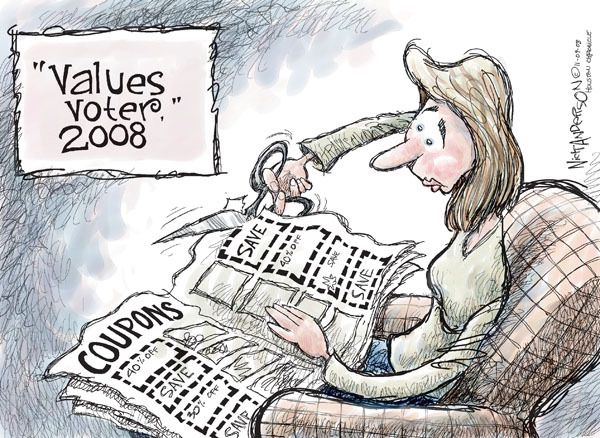 Cartoonist Nick Anderson  Nick Anderson's Editorial Cartoons 2008-11-09 recession