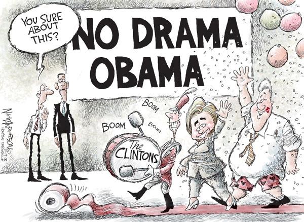 Cartoonist Nick Anderson  Nick Anderson's Editorial Cartoons 2008-11-19 Bill Clinton