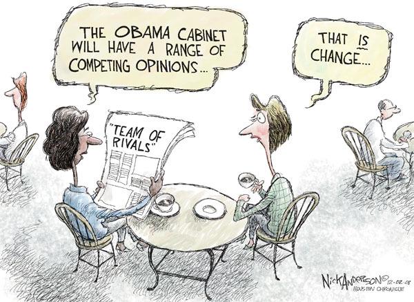 Cartoonist Nick Anderson  Nick Anderson's Editorial Cartoons 2008-12-02 executive branch