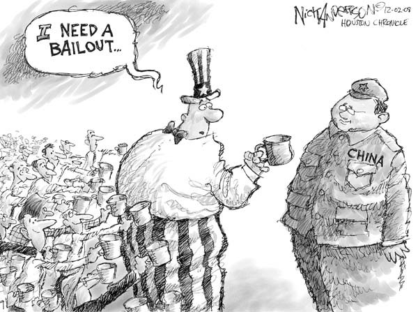 Nick Anderson  Nick Anderson's Editorial Cartoons 2008-12-03 chinese