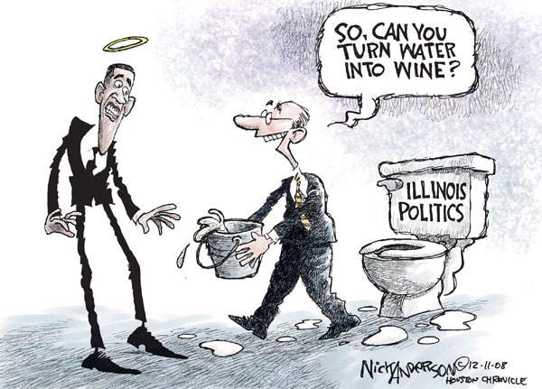 Nick Anderson  Nick Anderson's Editorial Cartoons 2008-12-11 political corruption