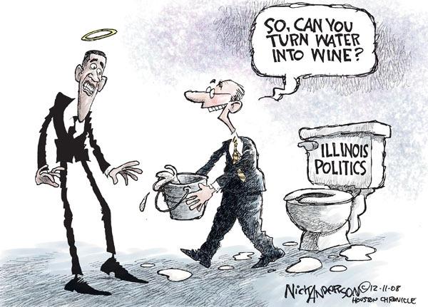 Nick Anderson  Nick Anderson's Editorial Cartoons 2008-12-11 corruption